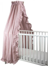 NG Baby, Sänghimmel Mood Ruffles rose