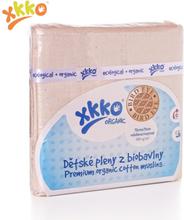 XKKO - Mullwindeln - 100% Bio-Baumwolle - Birds Eye - 70x70 cm - 5 Stück