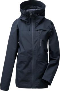 Didriksons Wida Women's Jacket Dame regnjakker Blå 48