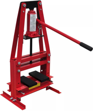 vidaXL Værksted presse hydrauliske 6-ton