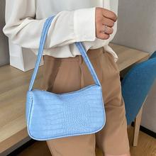 Fashion Design Women Small Handbags Soft PU Leather Ladies Armpit Shoulder Bags Vintage Simple Girls Clutch Purse Tote
