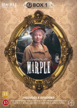 Miss Marple: Box 1 - Episode 1-4 (2-disc) - DVD