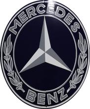 Emaljeskilt Mercedes 2
