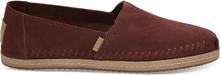 TOMS Schuhe Muscat Braune Suede Damen Classics - Größe 43.5