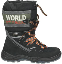 Snow Boot, schwarz - kombiniert
