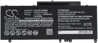6MT4T for Dell, 7.4V, 6850 mAh