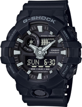 Casio G-SHOCK Standard Analog-Digitaluhr GA-700-1B - Schwarz