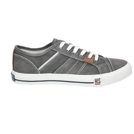 Sneaker, mittelgrau