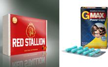 Erektionshjälp Paket 6 - Red Stallion + GMax - spara 12%