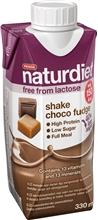 Naturdiet Free Shake No Lactose 330 ml Choco-fudge