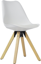 Shell - Hvid spisebordsstol