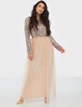 Vila Visparrow L/S Maxi Dress/1 Maxiklänningar