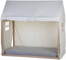 CHILDHOME Sänghusöverdrag 150x80x140 cm vit