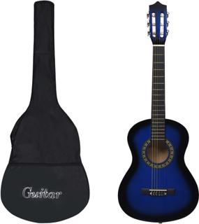 vidaXL klassisk guitar med taske for begyndere og børn 1/2 34