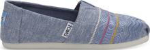 TOMS Schuhe Blau Chambray Classics Für Kinder - Größe 38