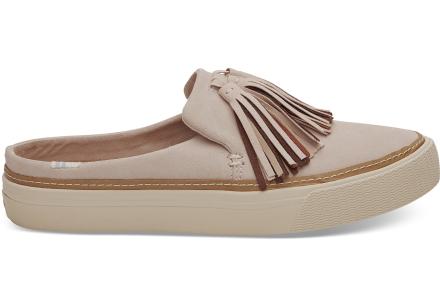 TOMS Damen Schuhe Soft Pink Suede Tassel Sunrise - Größe 42