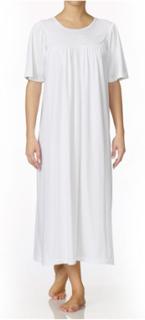 Soft Cotton Nightshirt 34000 White White