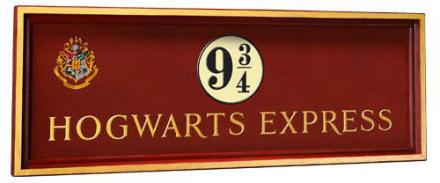 Harry Potter - Hogwarts Express Wall Plaque