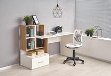 Myles skrivbord - EK/Vit