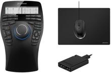 3dconnexion Spacemouse Enterprise Kit 3d Mouse Musta