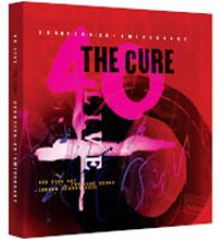 THE CURE: 40 LIVE - CURÆTION-25 + ANNIVERSARY Deluxe Box (Includes 2 DVDs & 4 CDs)