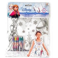 Disney Frozen : Farve dit eget forklæde 6-stykker - wupti.com