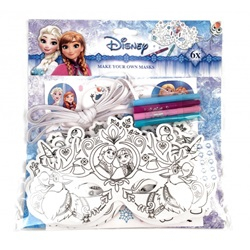 Disney Frozen : Lav din egen maske 27-stykker - wupti.com