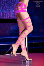 Neon Pink Stockings
