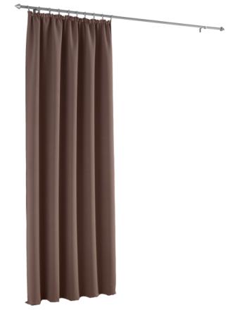 Mørkleggingsgardin Webschatz brun