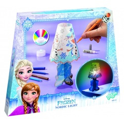 lav dit eget Frozen natlys - wupti.com