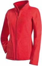 Active Fleece Jacket For Women Red