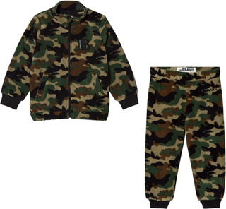 The BRANDPakke The BRAND Fleece Genser + Fleece Bukse Camo