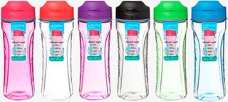 Sistema Tritan Swift Bottle 600 ml, Blå, Grøn, Pink, Lilla, Sort, Melon