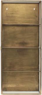 House Doctor Skap Glass og Messing 35 x 80 cm