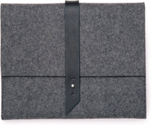TOMS Charcoal Heavy Felt Ipad Wallet