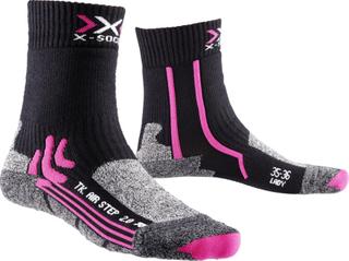 X-Bionic Air Step 2.0 Løpesokker Dame Grå/Svart 35-36 2018 Løpestrømper