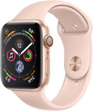 Watch Series 4 (GPS + Cellular) 40mm Guld Aluminium Sport Band Pink Sand