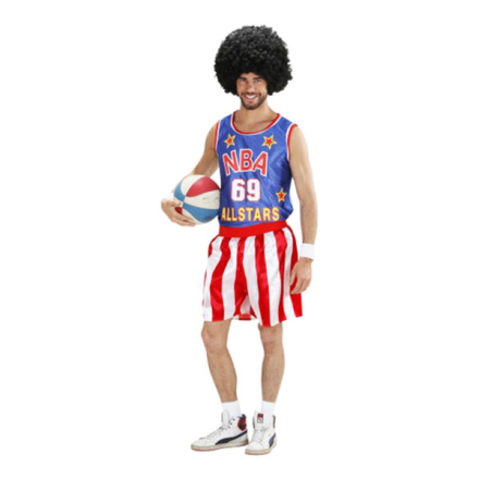 Basketbollspelare maskeraddräkt - small