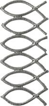 Vaxdekorationer - Fiskar (40x15 mm)