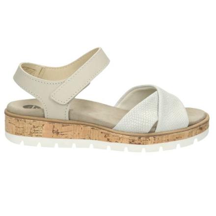 Sandale, hellgrau