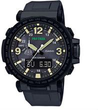 Casio PRO TREK Triple Sensor TOUGH SOLAR Uhr PRG-600Y-1 - Schwarz