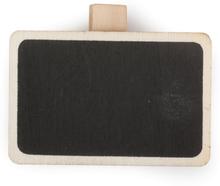 Griffeltavla med klipp - 4x6 cm