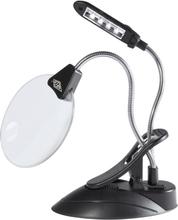 Förstoringsglas med LED-Lampa