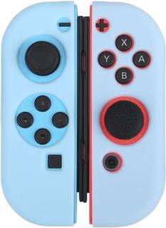 BUBM Nintendo Switch Joy-Con Beskyttelses deksel laget av silikon - Blått