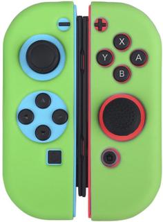 BUBM Nintendo Switch Joy-Con Beskyttelses deksel laget av silikon - Grønt
