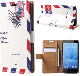 HTC U11 Life Etui laget av kunstlær og silikon - Luftpost