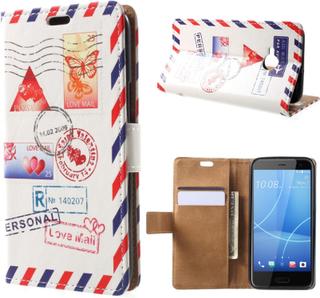 HTC U11 Life Etui laget av kunstlær og silikon - Flypost