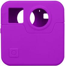GoPro Fusion kamera beskyttelses deksel laget av silikon - Lilla