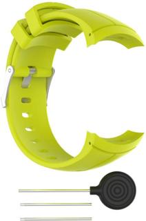 Suunto Spartan Ultra Klokkereim laget av silikon - Gul