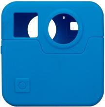 GoPro Fusion kamera beskyttelses deksel laget av silikon - Blått
